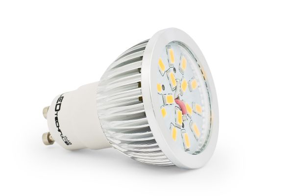LED ��rovka GU10 6,5W 600lm tepl�, ekvivalent 55W