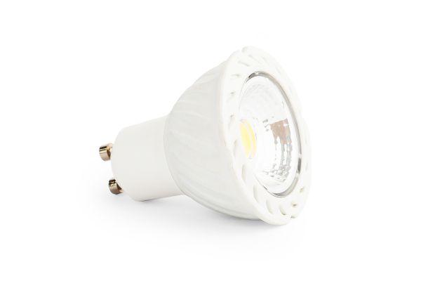 LED ��rovka GU10 6W COB 570lm tepl�, ekvivalent 53W