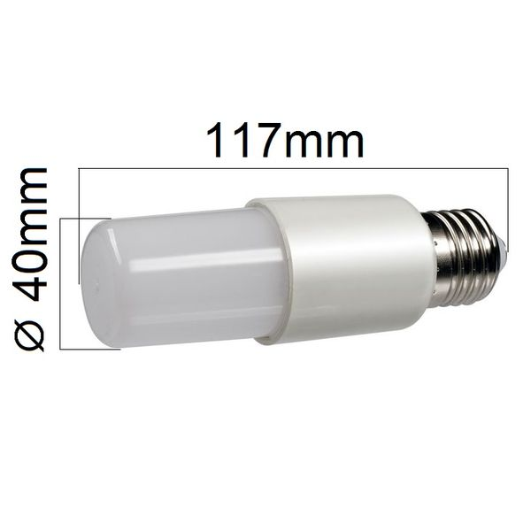 LED žárovka E27 12W 1080lm teplá, ekvivalent 75W