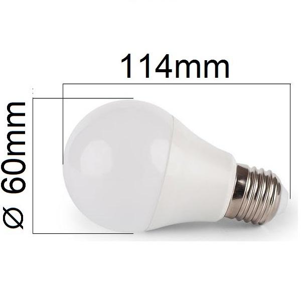 LED žárovka E27 10W 900lm denní , ekvivalent 75W