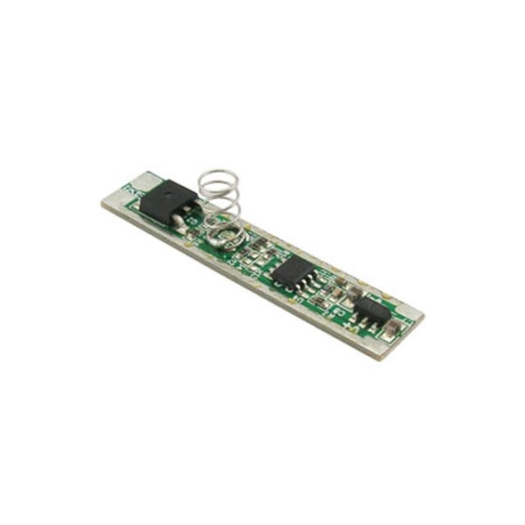 Dotykový stmívač pro jednobarevné LED pásky s plynou regulací jasu