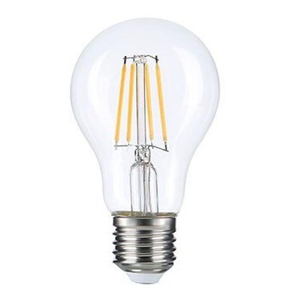 Retro LED žárovka E27 10W 1350lm teplá, filament, ekvivalent 90W