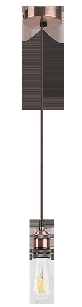 Stropní závěs Fixy 1417 bez stínidla