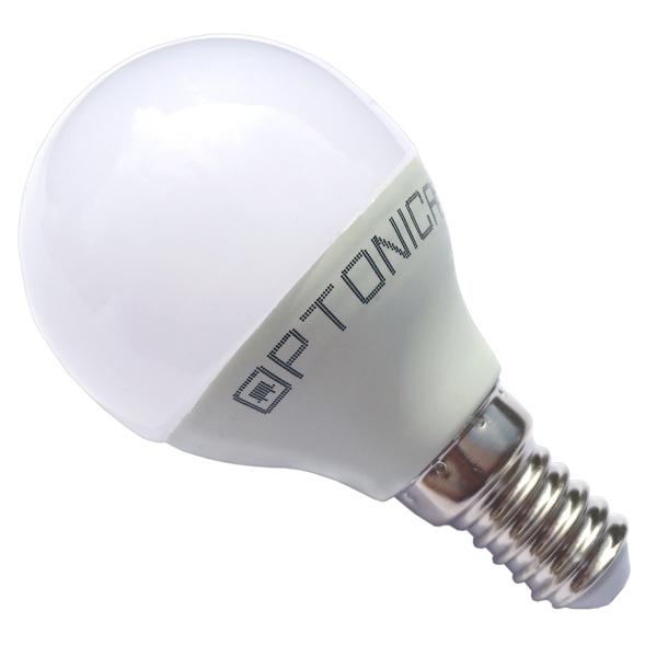 LED žárovka  E14 6W 480lm G45, denní,  ekvivalent 40W