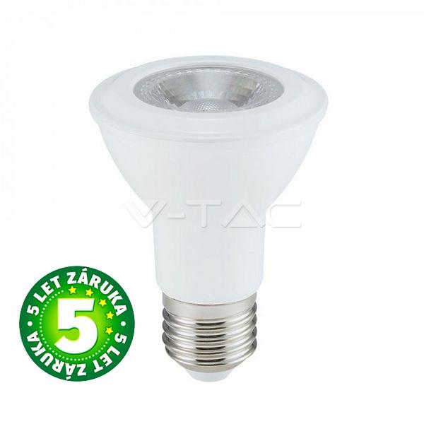 Prémiová LED žárovka E27 SAMSUNG čipy 7W 495lm teplá