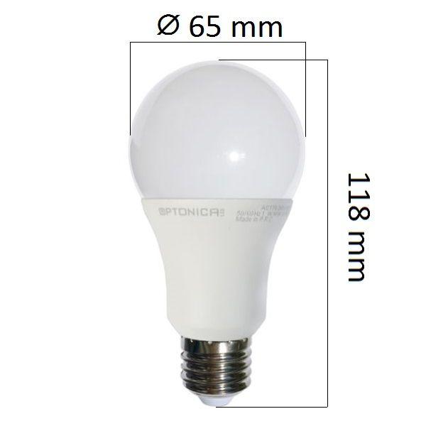 LED  žárovka E27 9W 750lm teplá, ekvivalent 60W