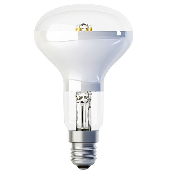 Retro LED žárovka E14 5W 600lm R50 teplá, filament, ekvivalent 50W