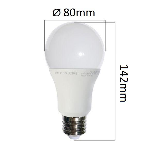 LED  žárovka E27 18W 1440lm denní, ekvivalent 100W