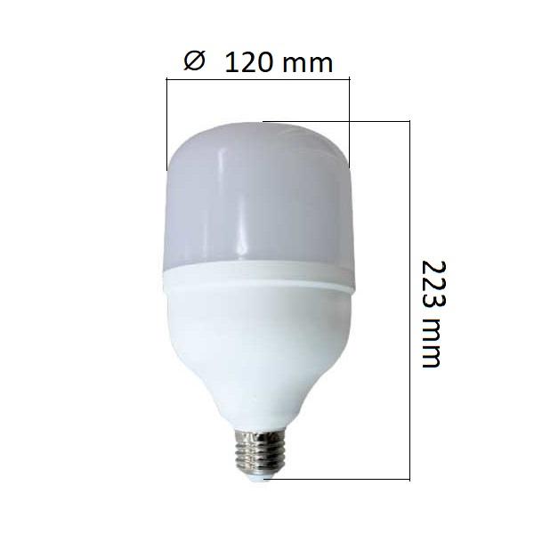 LED  žárovka E27 35W 3500lm T120, denní, ekvivalent 202W