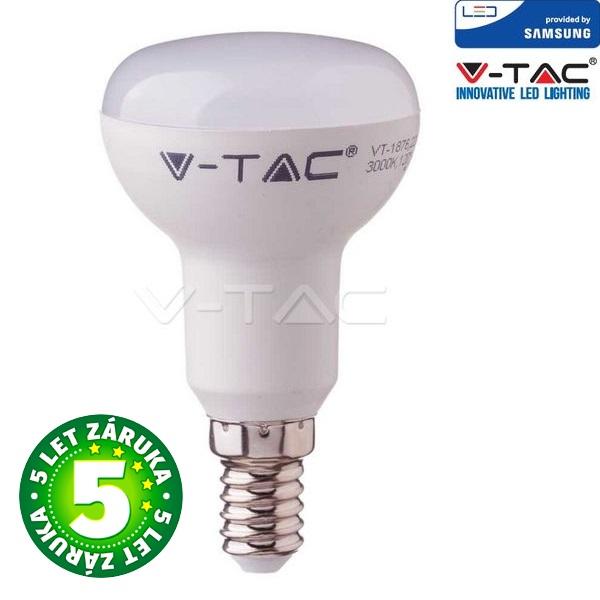 Prémiová LED žárovka E14 SAMSUNG čipy 3W 250lm R39, denní, 5 let