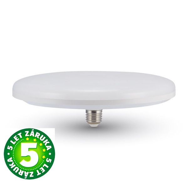 Prémiová LED žárovka E27 UFO SAMSUNG čipy 24W 1900lm teplá