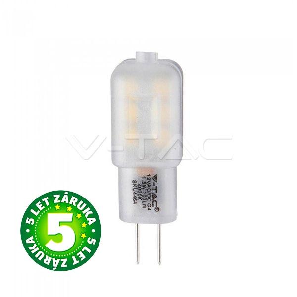 Prémiová LED žárovka G4 SAMSUNG čipy 1,5W 100lm 12V teplá
