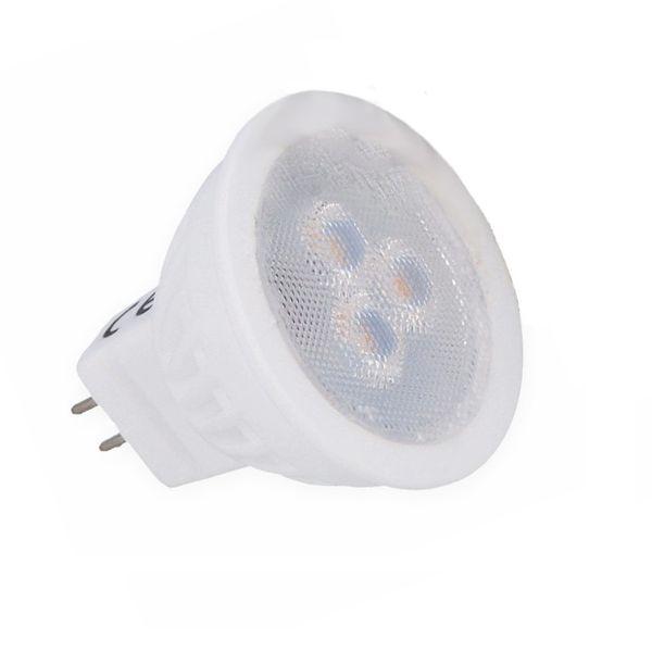 LED žárovka MR16 3W 255lm 3,5cm 12V teplá, ekvivalent 25W