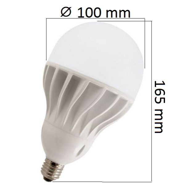 LED žárovka E27 30W 2700lm, denní,  ekvivalent 160W