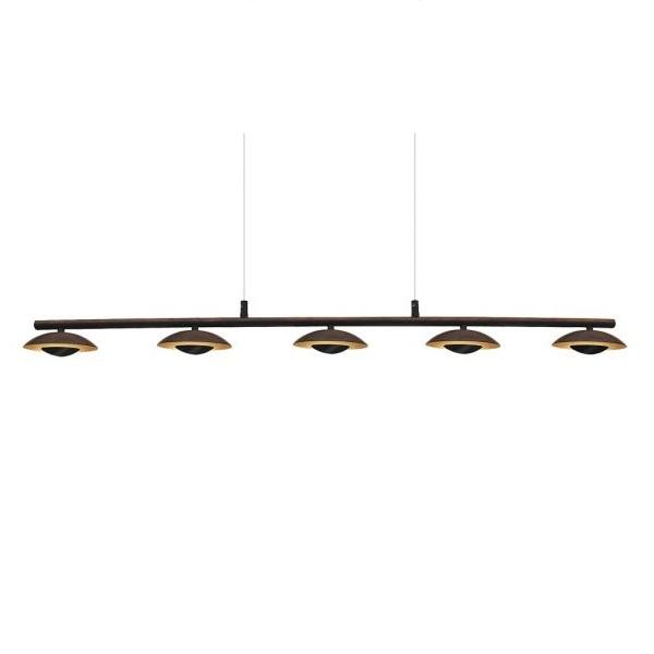 LED stropní svítidlo Brigitte LED 5x 5W 2555