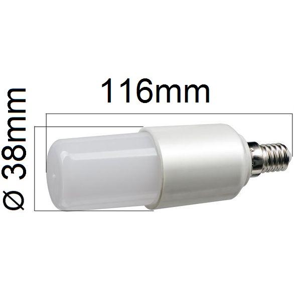 LED žárovka E14 12W 1080lm teplá, ekvivalent 75W