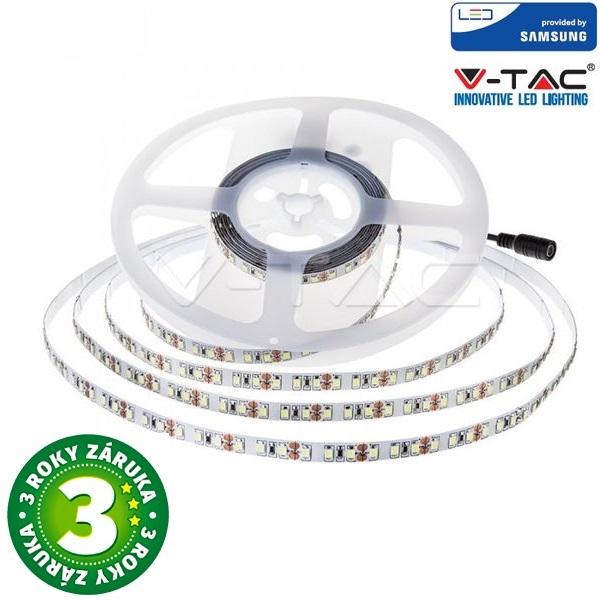 Prémiový LED pásek 120x2835 12W/m SAMSUNG čipy teplá, délka 5m