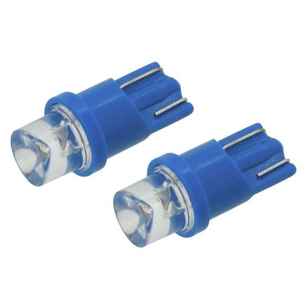 Led autožárovka 1LED 12V T10 modrá 2ks