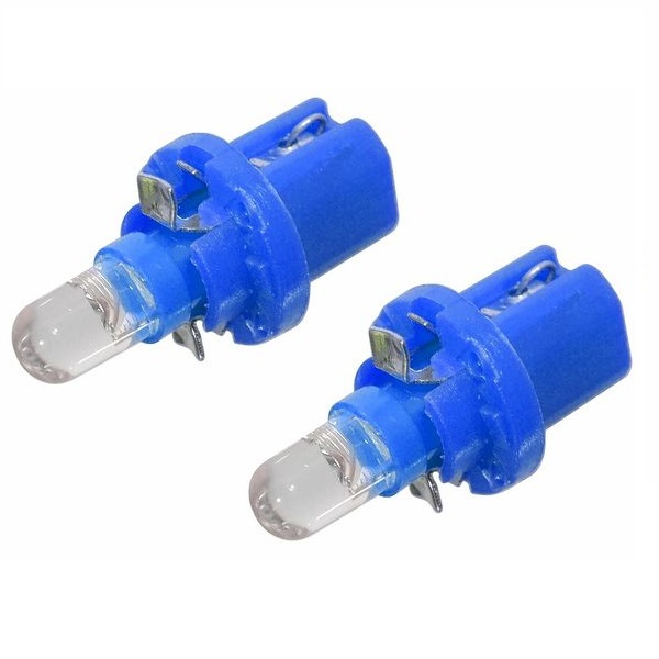 Led autožárovka 1LED 12V B8,5d modrá 2ks