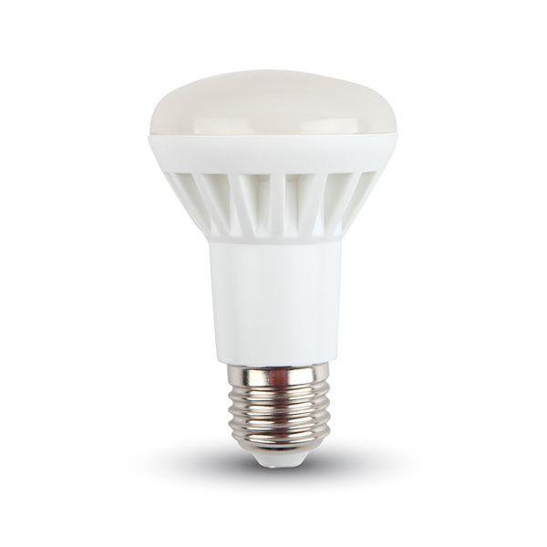 LED žárovka E27 8W 500lm R63 teplá, ekvivalent 60W