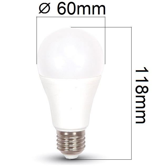 LED žárovka E27 11W 1055lm, denní,  ekvivalent 75W - DOPRODEJ, POSLEDNÍ KUSY!