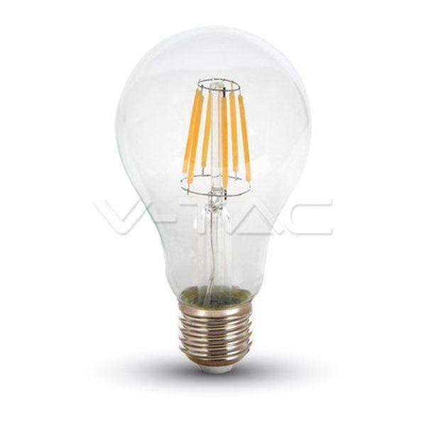 Retro LED žárovka E27 10W 1055lm teplá, filament, ekvivalent 75W