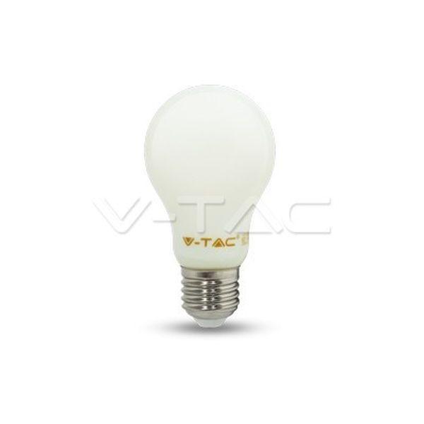 Retro LED žárovka E27 4W 350lm teplá, filament,  ekvivalent 35W
