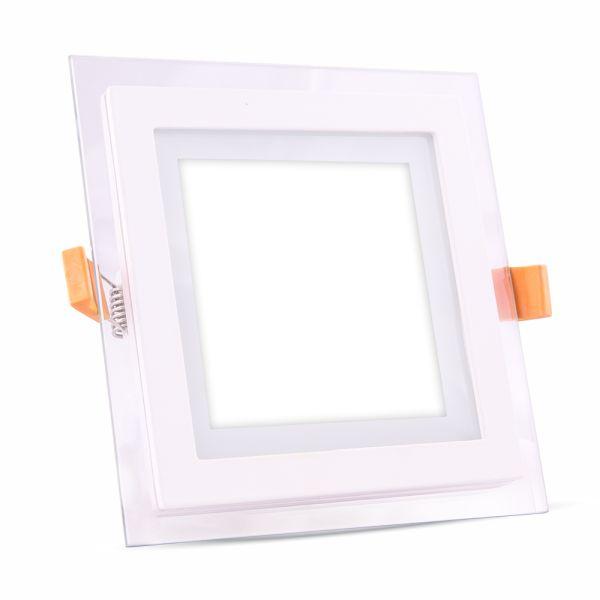 LED panel 18W 1260lm 19,8x19,8cm studené světlo,  čtvercový