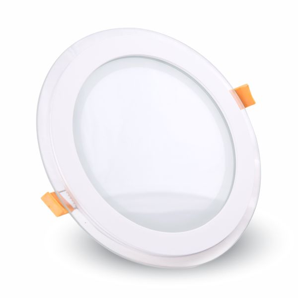 LED panel 6W 420lm 10cm studené světlo,  kruhový