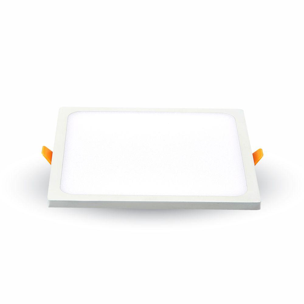 LED panel 8W 800lm 9,5x9,5cm denní světlo,  čtvercový