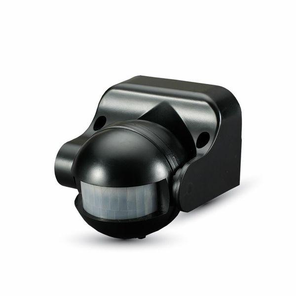 Venkovní pohybové čidlo černé