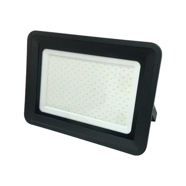 Ultratenký LED reflektor černý  150W 12750lm, studená