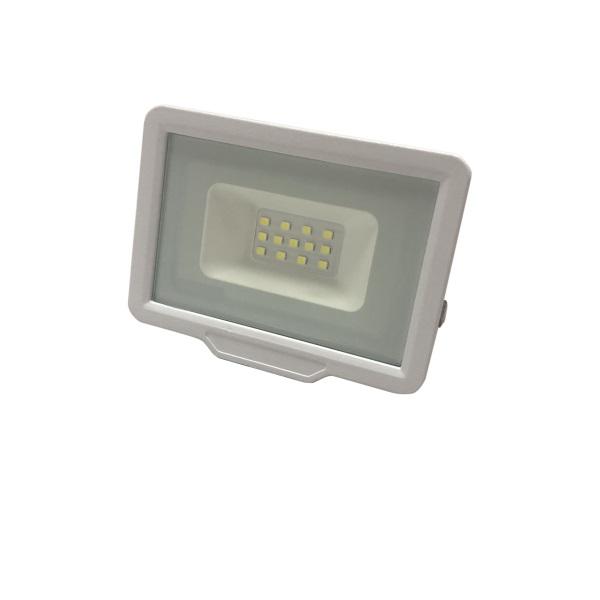 Ultratenký LED reflektor bílý  10W 800lm, denní