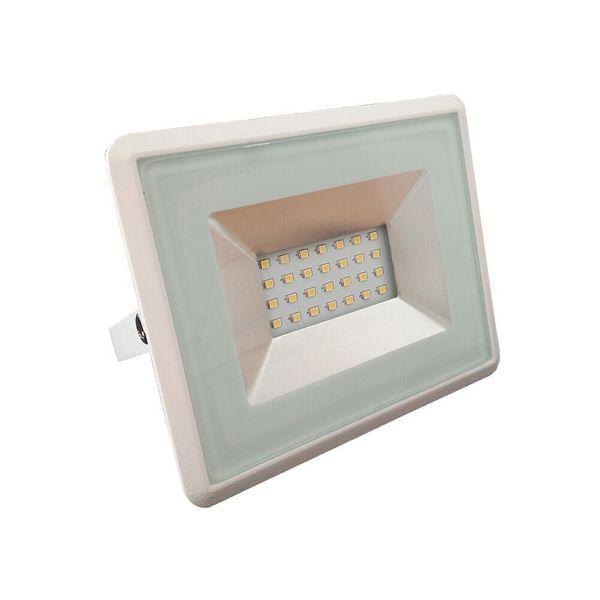 Ultratenký LED reflektor bílý  20W 1700lm teplá
