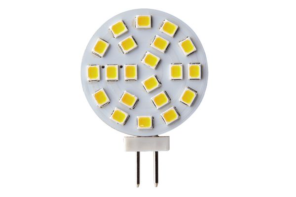 LED žárovka G4 5W 450lm 12V teplá,  ekvivalent  37W