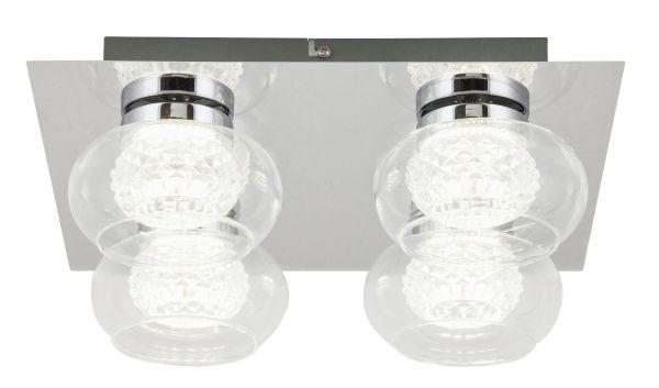 LED stropní svítidlo Karissa 4x4,8W