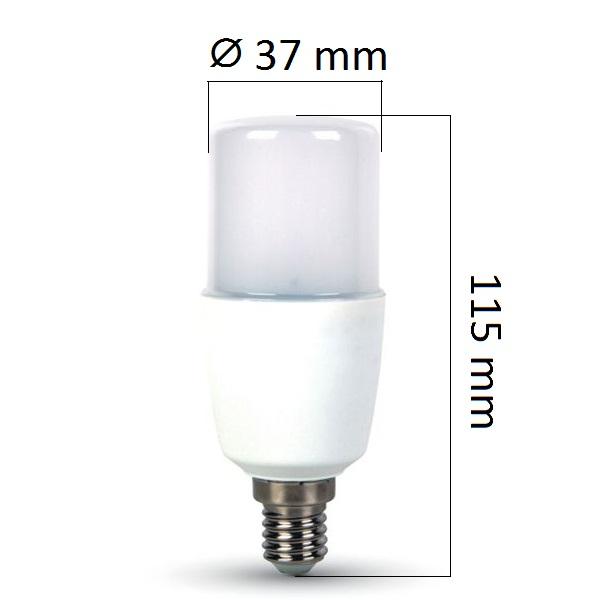LED žárovka E14 9W 750lm, denní, ekvivalent 55W - DOPRODEJ, POSLEDNÍ 1 KS