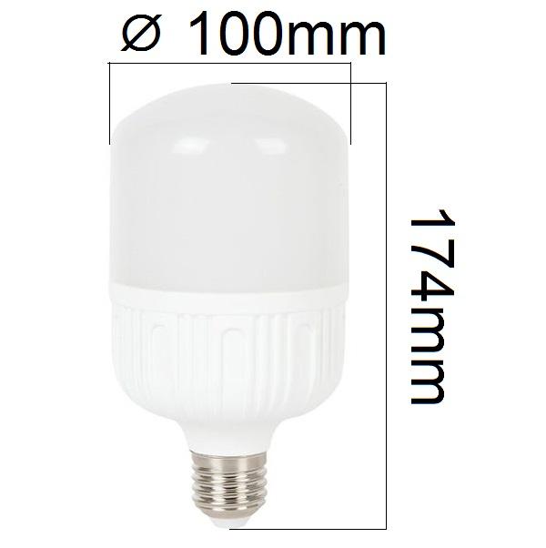 LED žárovka E27 24W 2080lm teplá, ekvivalent 150W