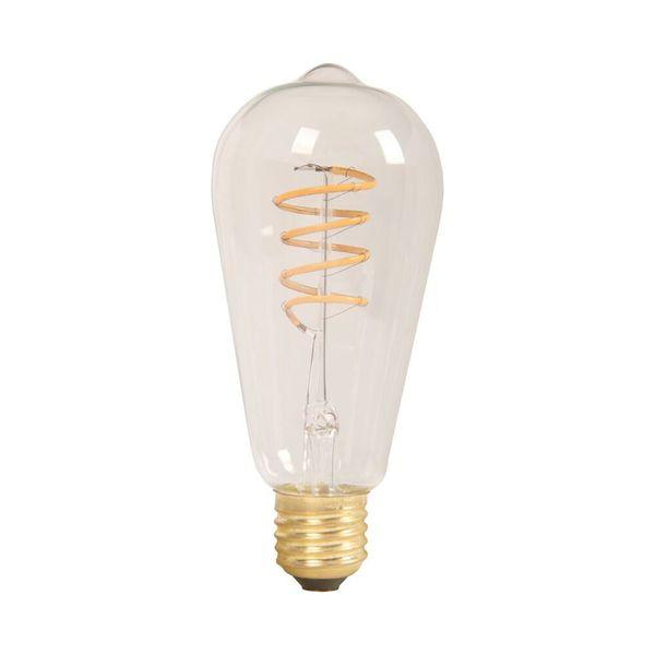 Retro LED žárovka  E27 4W 320lm teplá, filament, ekvivalent 30W