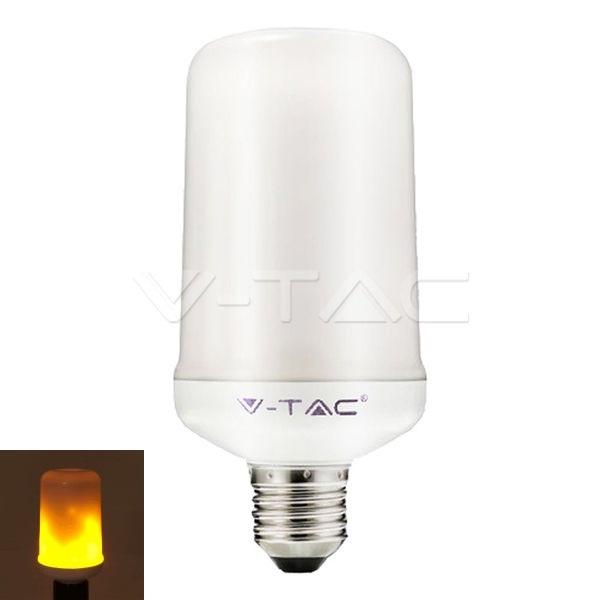 LED žárovka E27 4W 280lm teplá, s funkcí imitace ohně