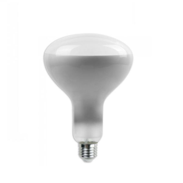 Stmívatelná retro LED žárovka E27 8W 600lm R125 teplá, filament, ekvivalent 50W