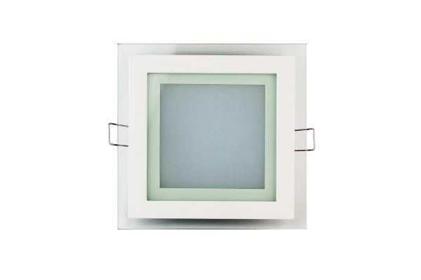 LED panel 12W 960lm 16x16cm denní světlo, čtvercový
