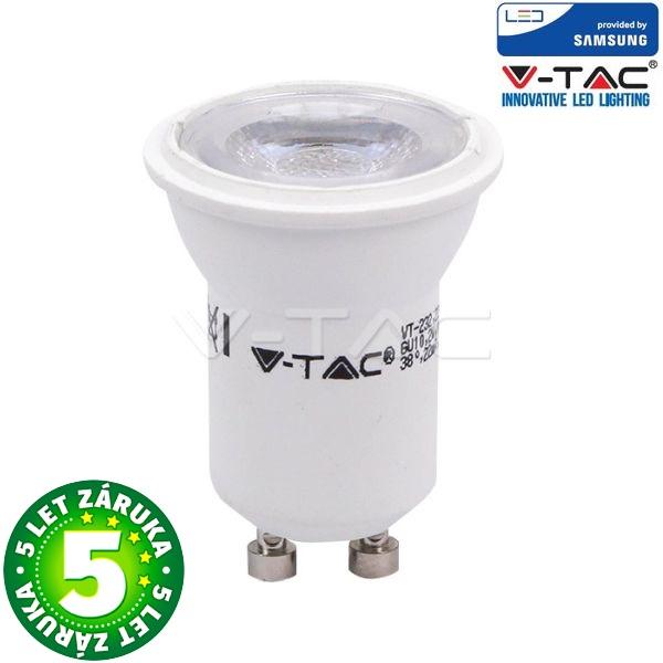 Prémiová LED žárovka GU10 MR11 SAMSUNG čipy 2W 180lm, teplá bílá, 5 let