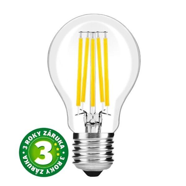 Prémiová retro LED žárovka E27 15W 2010lm, denní, filament, 3 roky