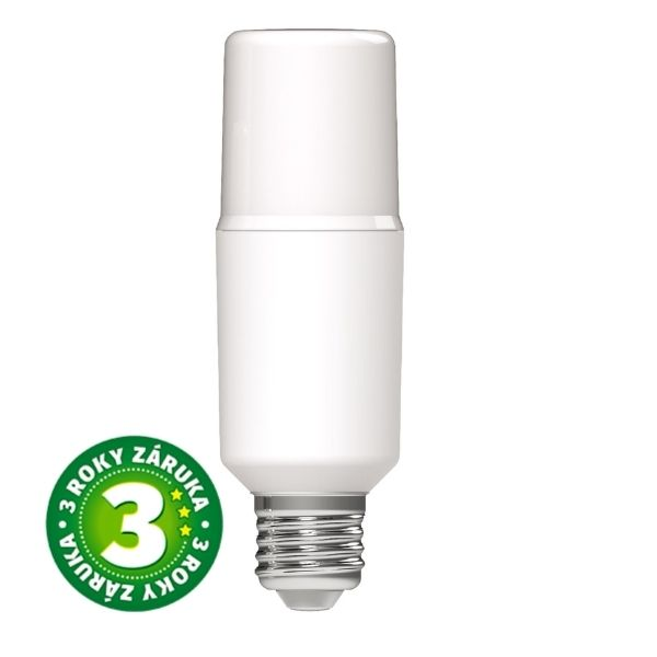 Prémiová LED žárovka E27 10W 1065lm T45, denní, 3 roky