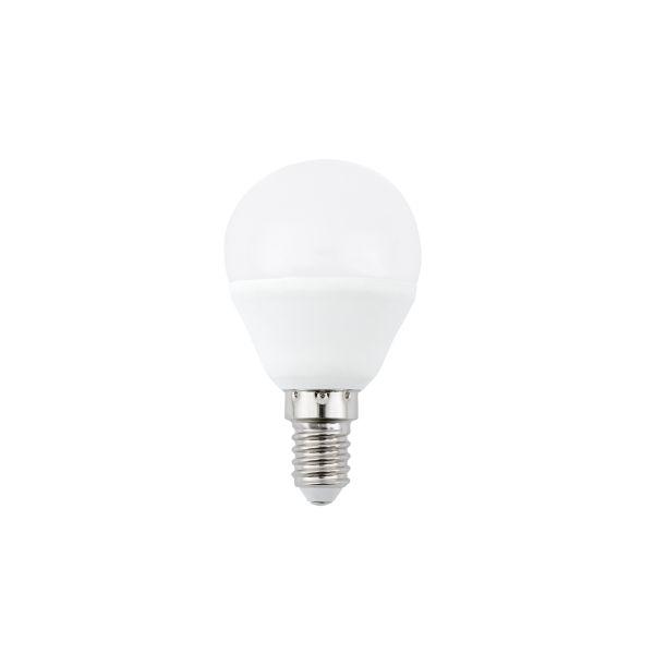 LED žárovka E14 4W 350lm G45 teplá, ekvivalent 35W