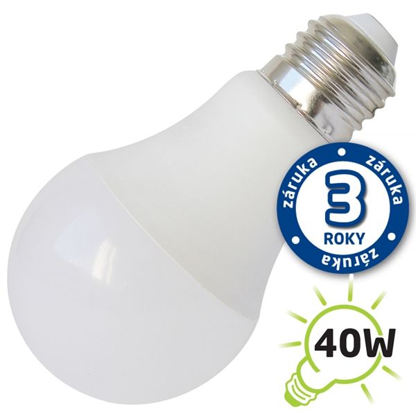 LED ��rovka E27 7W 560lm 12V tepl�, ekvivalent 52W