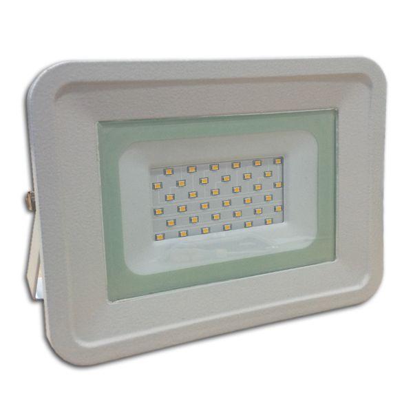 Ultratenký LED reflektor bílý   50W 4000lm, denní