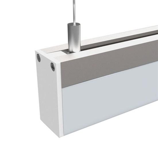 LED závěsné osvětlení,15W, 960lm, 3000K, 100cm, hranol