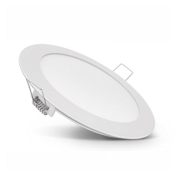 Vestavný LED panel 3W 150lm 8,5cm teplé světlo,  kruhový